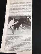L3-7 Ephemera 1981 Article Cranfield Marconi Avionics The Machan Robot Plane