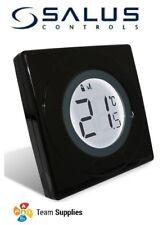 Salus S Series Piano Black Digital Room Thermostat st320pb Heating Stat