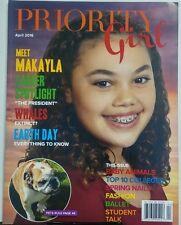 Priority Girl April 2016 Meet Makayla Baby Animals Fashion Talk FREE SHIPPING sb