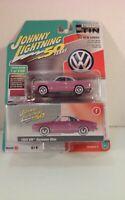 2019 Johnny Lightning 50 Years 1964 VW Karmann Ghia Pop Lilac R2 A Die-Cast 1:64
