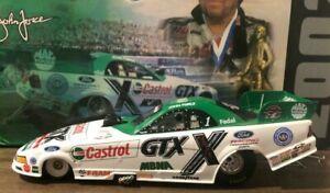 JOHN FORCE 2002 100TH WIN CASTROL GTX 1/24 ACTION DIECAST FUNNY CAR 1/9,726