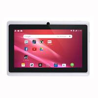 Tableta para NiñOs de 7 Pulgadas Androide CáMara Dual de Cuatro NúCleos K3C9