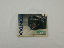 Contax RTS Instruction Booklet NR