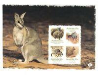 MAD376) Australia 2007 Endangered Species Booklet Pane MUH