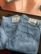 Mens American Living Straight Leg Jeans (Size 36x32) - TWO PAIRS