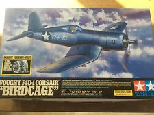 TAMIYA 1/32 60324 Vought F4U-1 Corsair Birdcage Clear Cowling MILITARY Model Kit