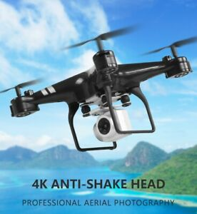4K RC Drone HD WiFi Camera Four Axis Aircraft Helicopter Gift For Children