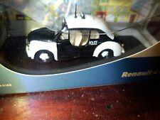 RENAULT 4CV POLICE PARISIENNE - 4 CV - 1/43 ELIGOR ( 221 )