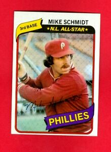 1980 Topps Mike Schmidt  Philadelphia Phillies #270 Mint