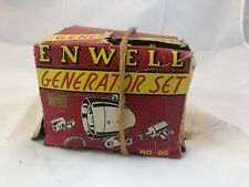 Vintage Enwell BICYCLE GENERATOR  FRONT & REAR TAIL Plastic Lens LIGHT Used