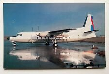 Fuerza Aerea Uruguaya Fokker F-27 Mk 100 Postcard