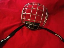 NEW Bauer TRUE VISION HOCKEY HELMET MASK CAGE & MOUTHPIECE FM2100 M/M
