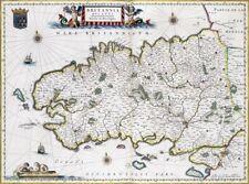 Reproduction carte ancienne - Duché de Bretagne 1663