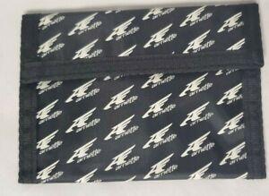 Arnette Nylon Trifold Wallet, Black with White Logo, BRAND NEW