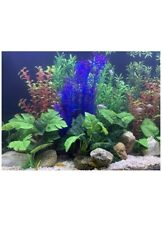 Begondis Aquarium Decorations Fish Tank Artificial Green Water Plants 5 Piece