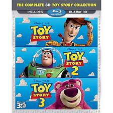 Toy Story Trilogy 3d - Blu-ray Region 1