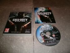 JEU PS3 PAL Ver. Française: CALL OF DUTY BLACK OPS - Complet TBE