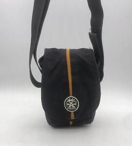 Crumpler Pretty Boy 140 XXXS Compact Camera Bag in Black / Orange