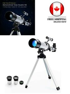 Telescope Star Finder with Tripod 360mm 50mm HD Zoom Monocular Space