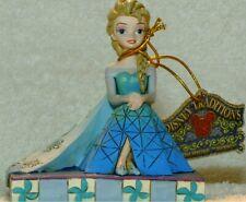 "Jim Shore Disney Traditions Princess Elsa Personality Pose ""Be Yourself""#4050406"