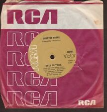 """Dorothy Moore - Once or Twice / Can't Keep A Good Love Down - 7"""" single 45rpm"""