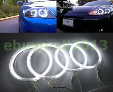 WH Color CCFL Halo Rings For HYUNDAI TIBURON Angel Eyes DRL Devil Demon Lamp