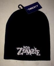 ROB ZOMBIE LOGO LICENSED BEANIE CAP ROCK METAL  NEW! t-shirt white zombie