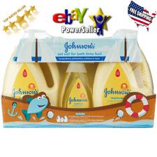 Johnson's Baby Head to Toe Wash & Shampoo 2 - 33.8 fl. oz., 1 - 10.2 fl. oz