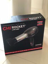 NIB CHI Rocket LOW EMF Professional Hair Dryer - 1800 WATTS Infrared & Ionic