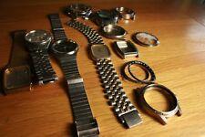 Relojes Seiko 4 + 5 casos + Piezas. Repuestos o reparaciones lot214