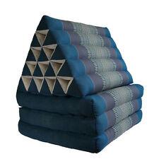 Jumbo Size Thai Triangle Pillow Fold Out Mattress Cushion Day Bed THREE FOLDS b