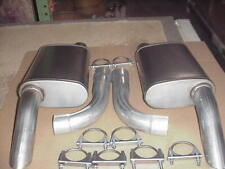 1974 TO 1979  Corvette WITH DUALS 21/2 409 S/S LIFETIME  Exhaust Mufflers