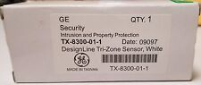 New GE TX-8300-01-1 DesignLine Tri-Zone Sensor - White Color (FREE SHIPPING)