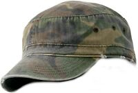 MEN'S, WOMEN'S LOW PROFILE, MILITARY STYLE HAT, CAP, DISTRESSED LOOK, ADJUSTABLE