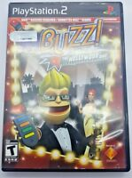 Buzz The Hollywood Quiz GAME (Sony PlayStation 2, 2008) PS2 (NO BUZZ INCLUDED)