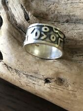 A beautiful vintage Runic Design Ring,sterling.resale,marked925,size 5.5.