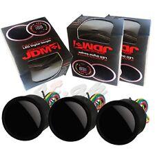 Jdm Sport 52Mm Digital Blue Led Air Fuel Ratio+Turbo Boost+Oil Temperature Gauge
