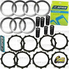 Apico Clutch Kit Steel Friction Plates & Springs For Honda CR 250 1994-2007