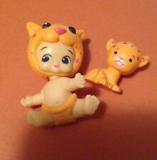 TWOZIES SEASON 1~Common BOYS Orange Baby & Pet Leopard/ Cheetah Speedie & Spotty