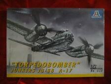 """""""TORPEDOBOMBER"""" JUNKERS JU-88 A-17 1/72 ITALERI 038"""
