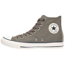 NIB $70 Converse CT Hi Charcoal Gray Leather 141948C US Mens 10