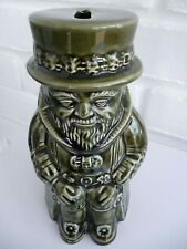 Money Box Dartmouth Ceramic Beefeater Yeoman Vintage