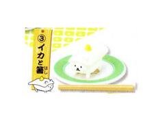 Sushi-nyan Sushi Cat Ika Squid w/Chopsticks Capsule Toy 4cm 4905040612830 US Sel