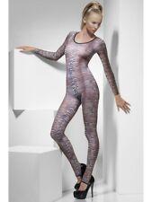 Body Suit Tiger Animal Print Bodycon Stocking Ladies Lingerie New