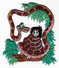 "DISNEY- JUNGLE BOOK BOY W/SNAKE(4 3/4"")-Iron On Embroidered Applique,Simplicity"