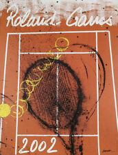 TENNIS ART PRINT - Roland Garros, 2002 by Pierre Fernandez Arman Original Poster