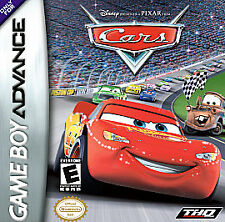 Cars, Acceptable Game Boy Advance,Game Boy Advanc Video Games