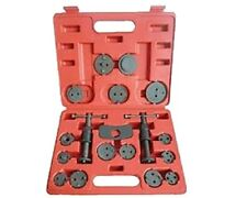 19 Piece Caliper Wind Back Brake Piston Tool Set w/ case - Late Model Fords too