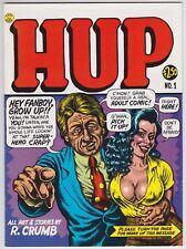 Hup #1 VF-NM 9.0 First Print First Issue Robert Crumb Art!