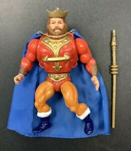 MASTERS OF THE UNIVERSE HE MAN KING RANDOR LOOSE COMPLETE ACTION FIGURE TOY
